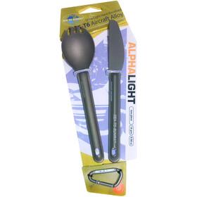Sea to Summit Alpha Light Cutlery Set 2 pcs.